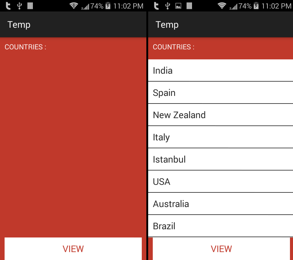 android sql listview