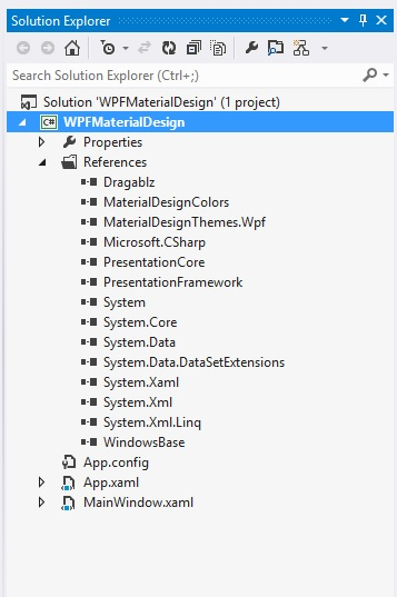 WPF Designing Material Design Tabs with Dragablz 03