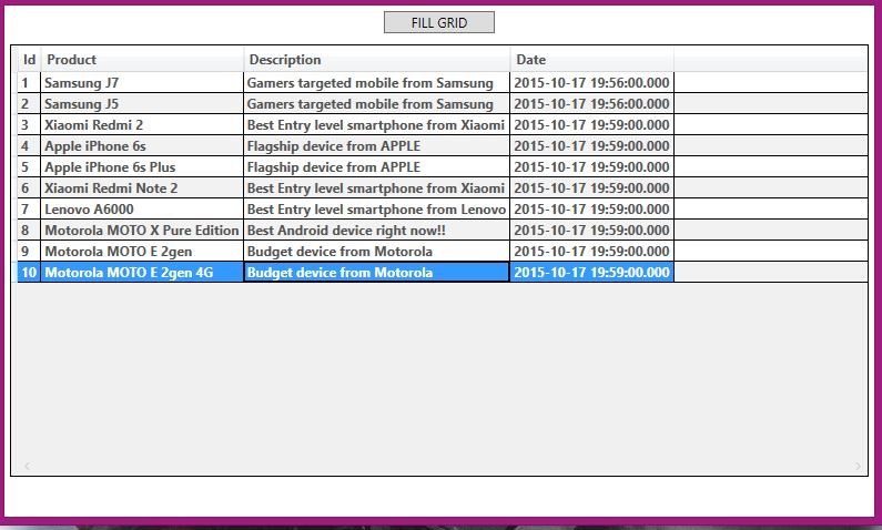 WPF DataGrid Row MouseDoubleClick Example • ParallelCodes