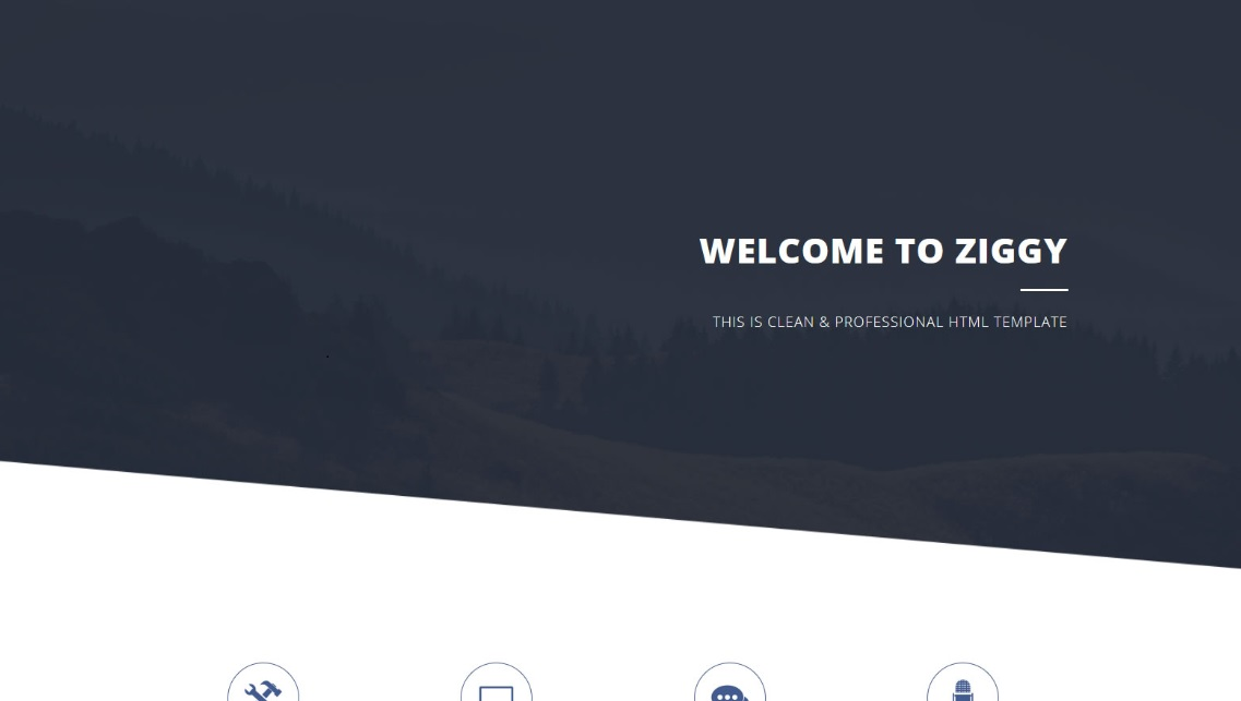 free css templates download ziggy theme