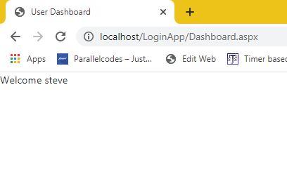 login result