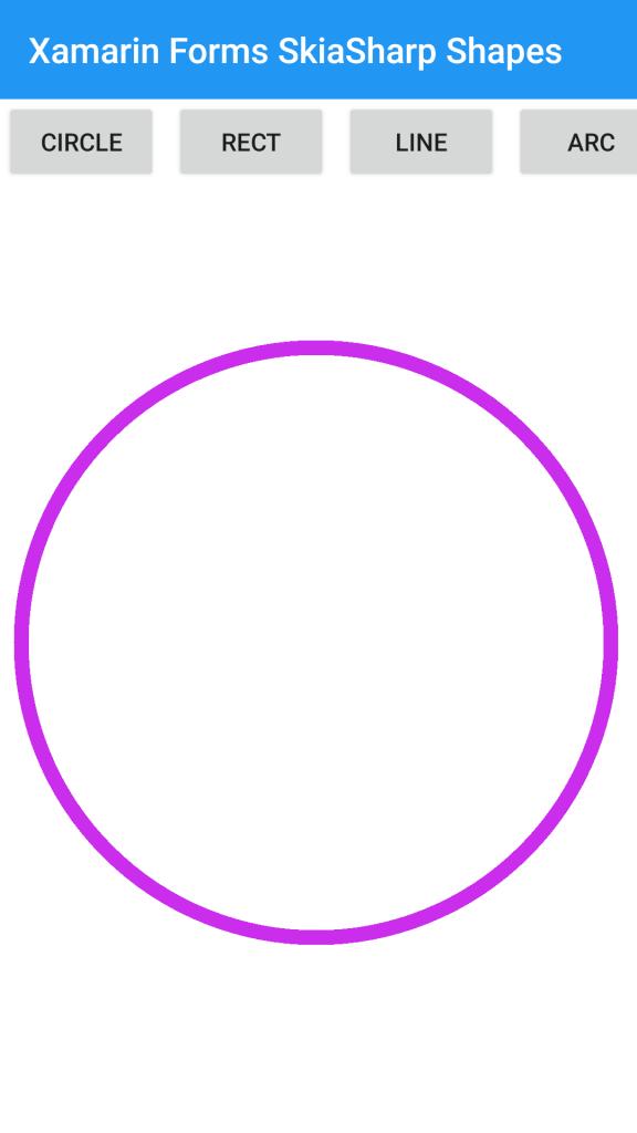 Circle-Xamarin-Forms-SkiaSharp-Shape