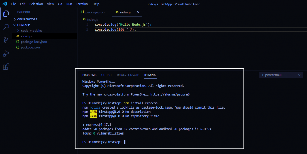 node-js-first-app-use-express