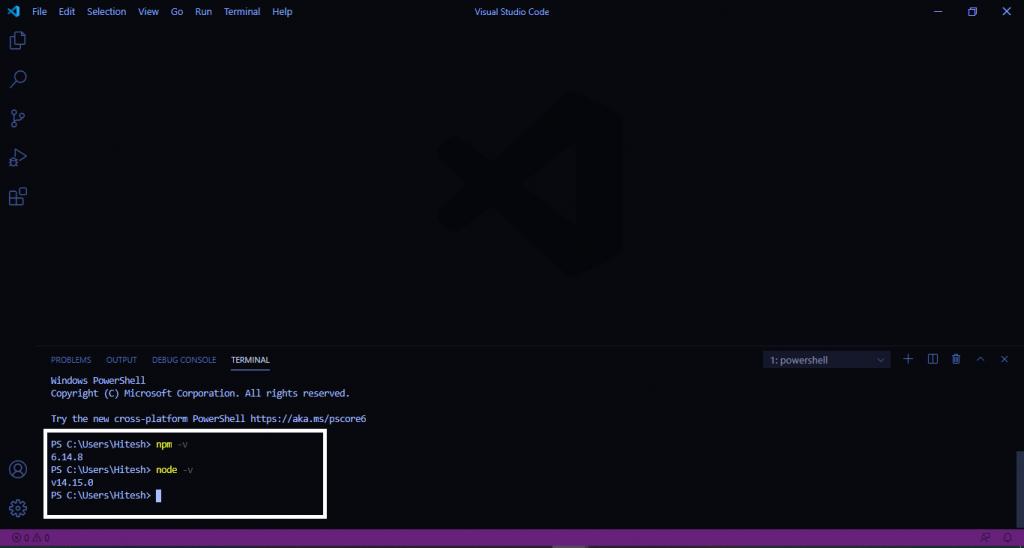 install setup nodejs windows-001