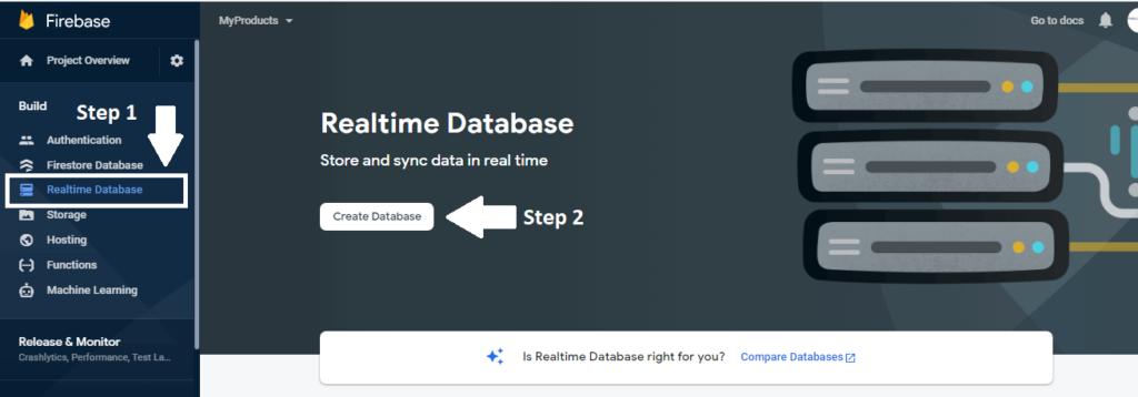 firebase-database-create-database