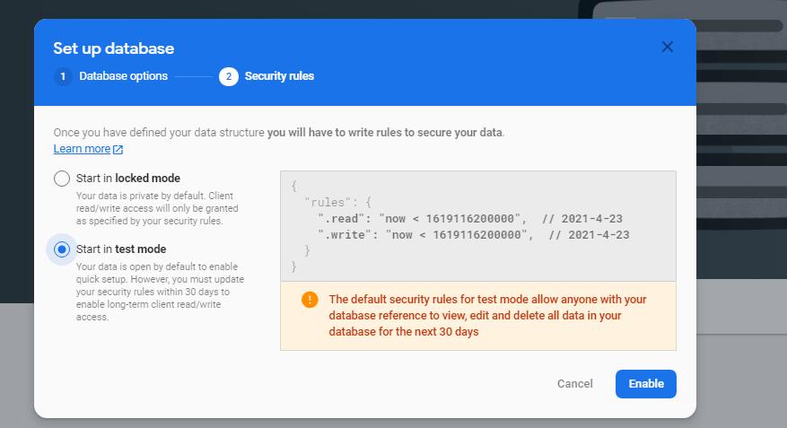 firebase-database-select-security-modes