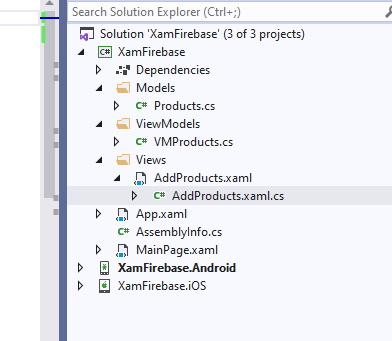 xamarin-forms-firebase-project-structure