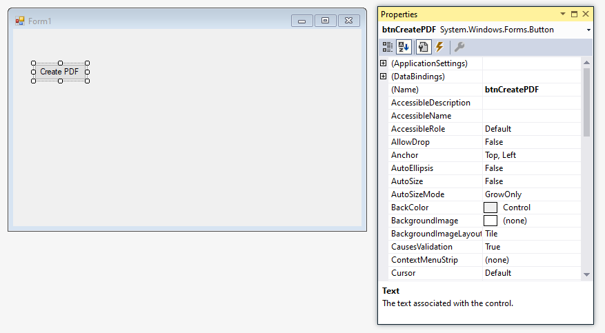 c#-windows-form-pdf-screen-one